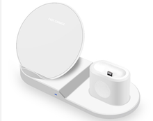 High quality 3 in 1 qi wireless charger for <strong>mobile</strong> <strong>phones</strong>, earphones and watch