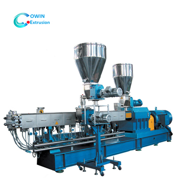 china pp/pa/ps/pe granulating plastic extruders