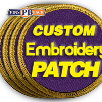 Low MOQ Personalized Embroidery Woven Tag Custom Patches