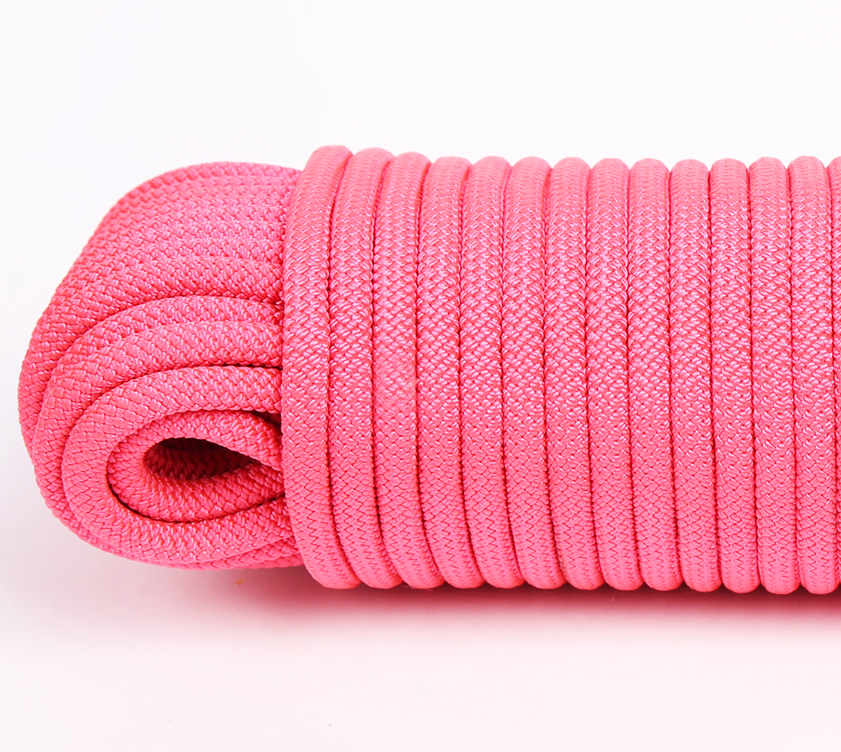 32 strands doublePink Poly Rope