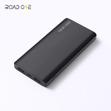 10000mah Rohs CE Listed Dual USB Output Power Banks Slim Metal Alloy Mobile Phone External Battery Charger Power Bank