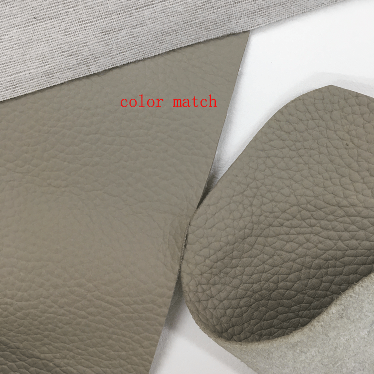 embossed soft anti-abrasion PVC leather products leatheroid for sofas