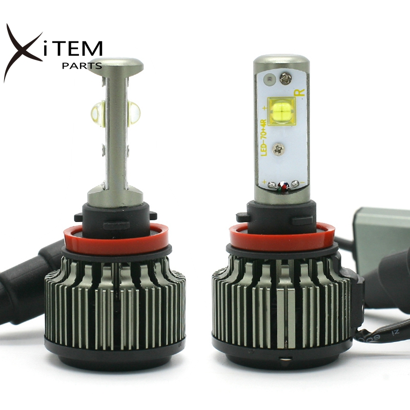H1 H3 H7 <strong>H10</strong> H11 H13 9005 9006 9007 all in one LED headlight canbus Turbo led <strong>lamp</strong> 40w