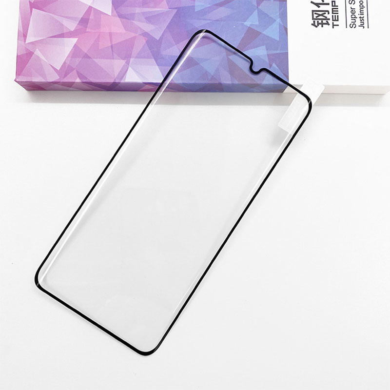 High quality hard tempered glass full glued mobile phone screen protector for Xiaomi mi note 10
