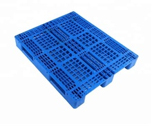 Iso 9001/14001 single Face Hape Steel Euro Reinforced Hdpe Plastic Pallet Made In China Hdpe Pallet trays