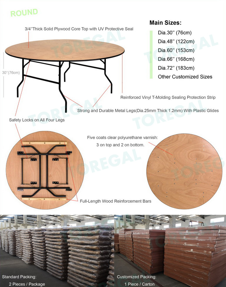 Folding Banquet Table 7