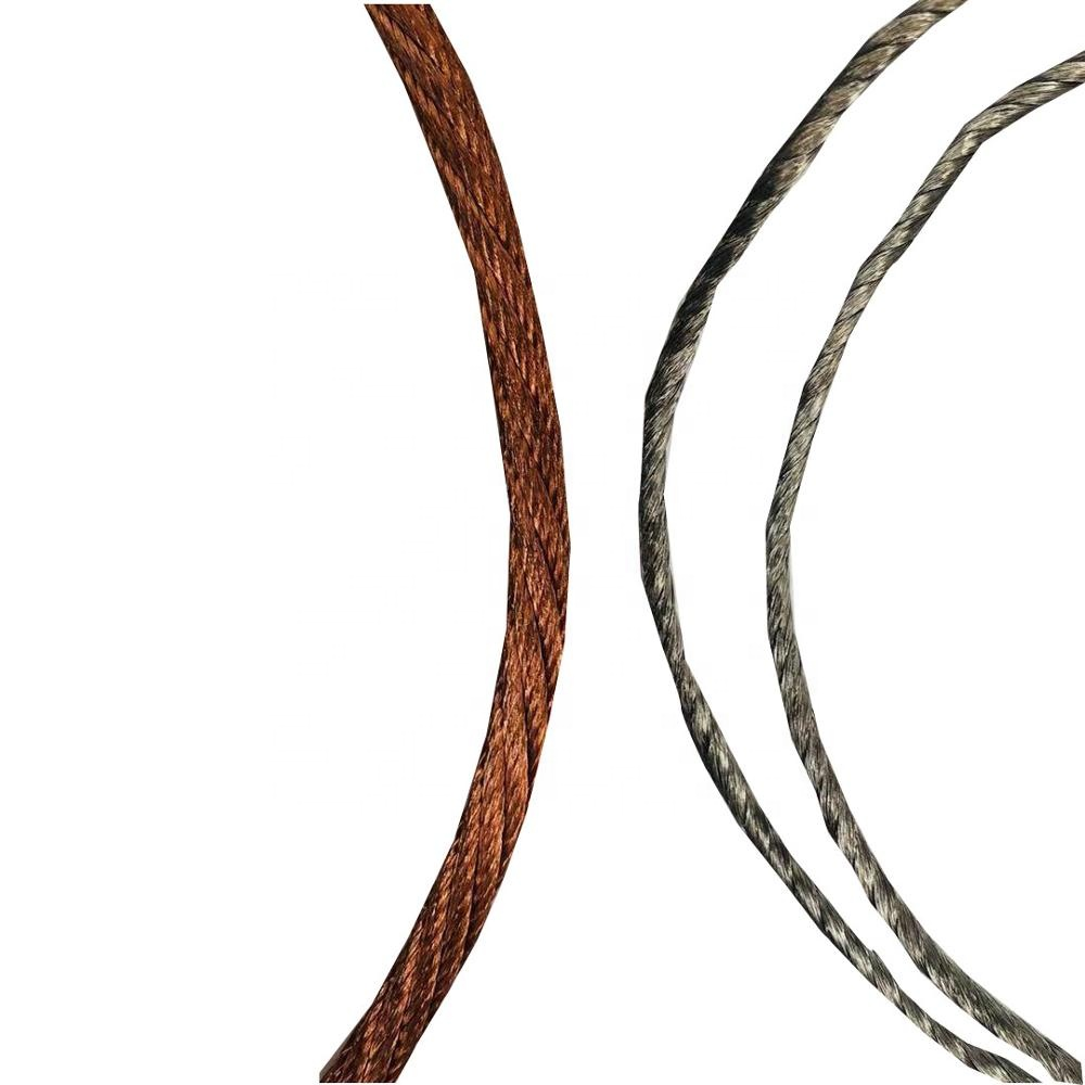 Round shape <strong>Copper</strong> braid Wires with good conductivity