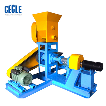 Pet Dog Food Pellet Making Extrusion Machine,Poultry Fish Animal Feed Pellet Making Machine