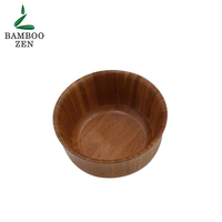 fruit with hook wash reusable soup luxury modern table biodegradable salad wooden baby snack bowl set