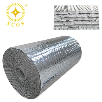 Thick 16X25 Ft Roll SF Reflective PE Bubble Foam Thermal Foil Insulation Radiant Barrier Thermal Insulation Heat Shield Foil