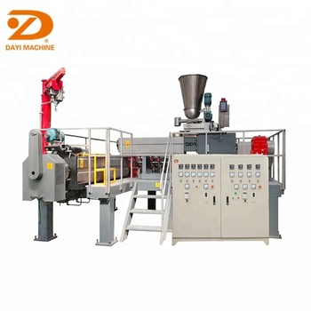 Dayi Industrial stainless steel pellets food corn snack extruder