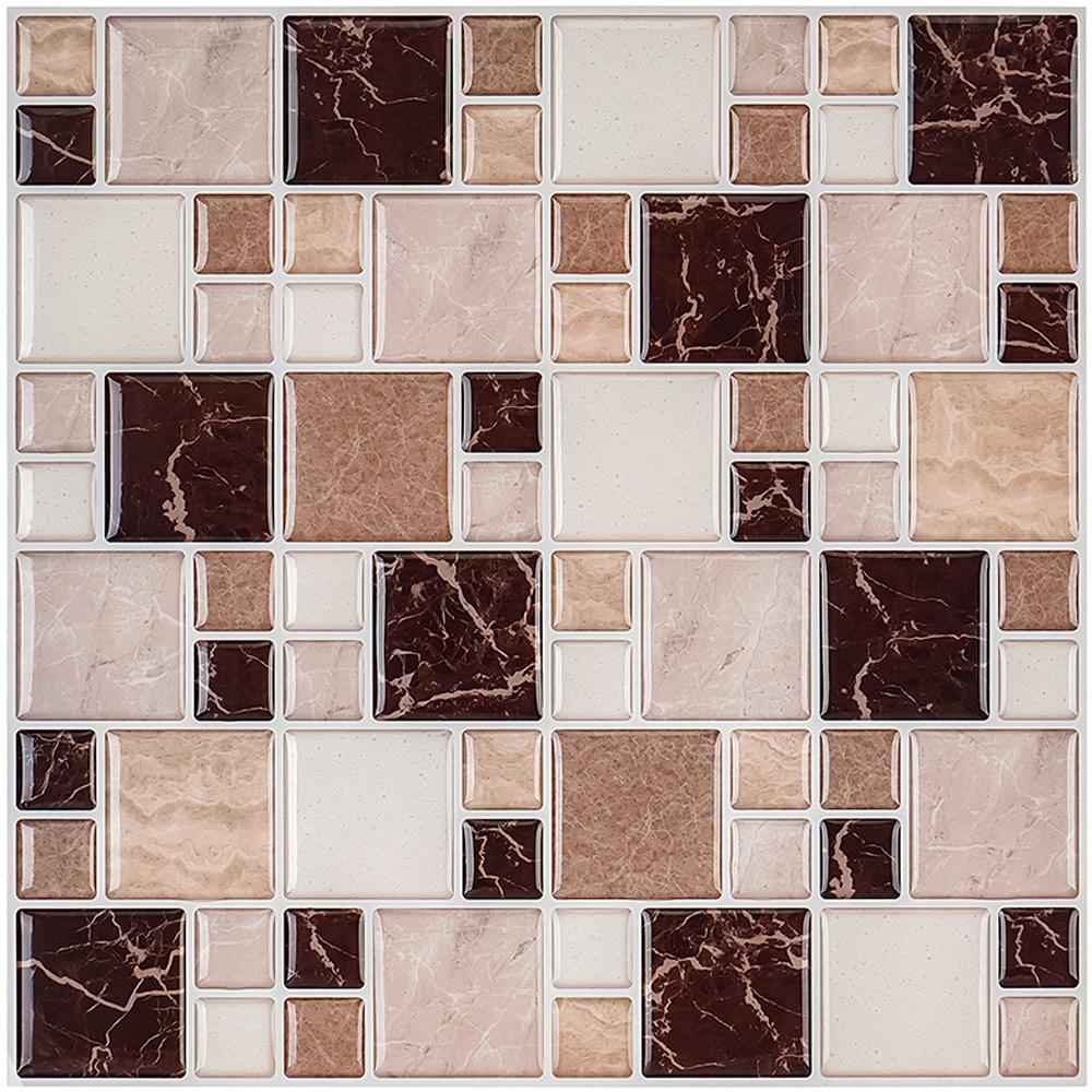 Mosaic Tile Papier Peint House Bathroom Design Kitchen Peel Stick Tiles Pieces Show For Home 3d Wallpaper Buy 3d Wallpaper Peel Off Coating Wallpaper In Uae Waterproof Bathroom Wall Panels Waterproof Wall