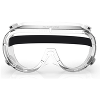 EUGENIA Anti Fog Safety Eye Protection Detachable CE Goggles