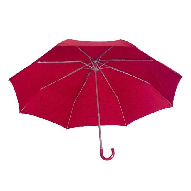 <strong>J</strong> Handle Outdoor Super Light Three Fold Umbrella