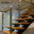 Staircase Balcony Stainless Railing Handrail