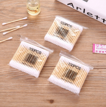 2020 year Amazon hot sale reusable bamboo cotton swab stick