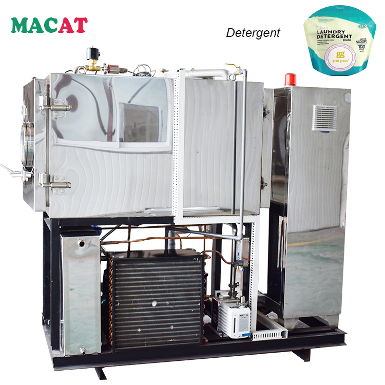 MACAT With CE Approved Widely Used FD Series Vacuum Freeze Dryer For Detergent