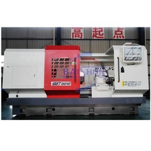 CK61100 automatic horizontal flat bed cnc metal lathe machine
