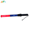 DK traffic warning baton red-blue double color shell for police traffic control