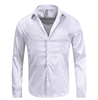 2018 hot sale ANSI A4 slash resistant shirts, V-neck long sleeve grey color uhmwpe men anti cut shirt