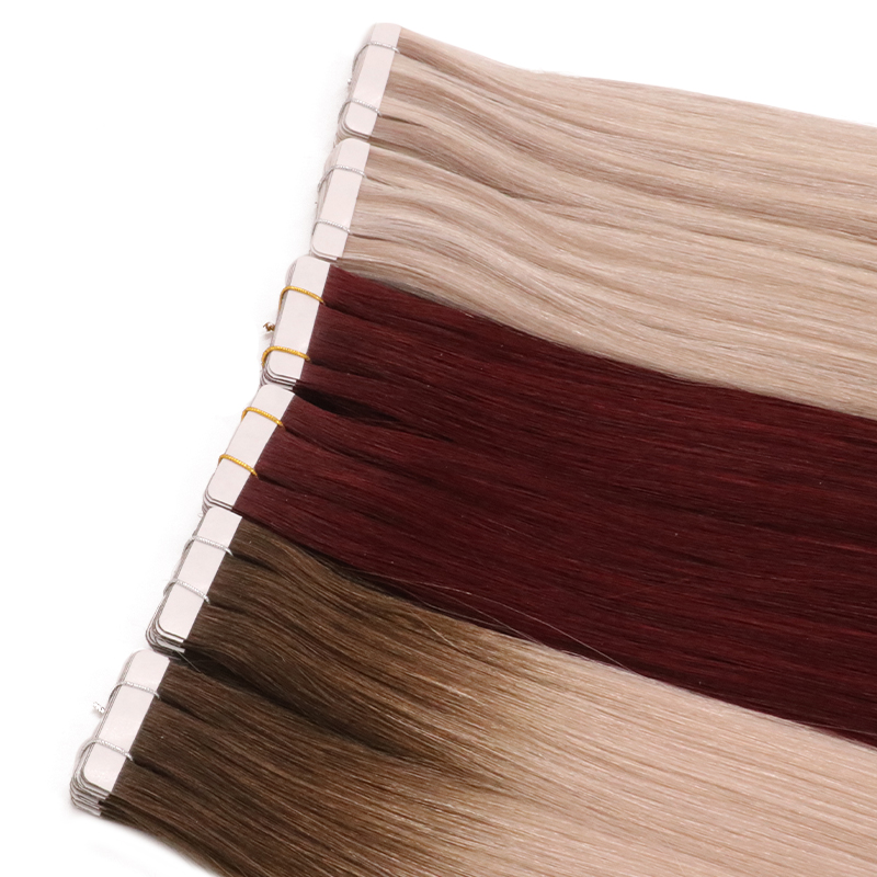 Natural Skin Weft Tape Hair Remy European Hair Extension <strong>Human</strong>