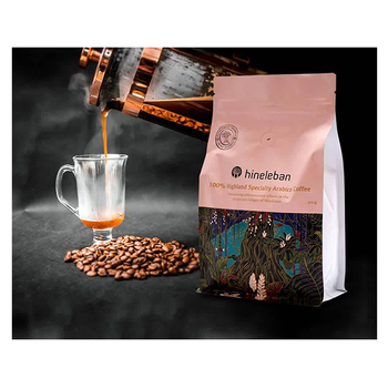 China Supplies Aluminium Foil Cafe Bag / Custom Printed 500g 1kg Coffee Packaging With Valve In Guangzhou
