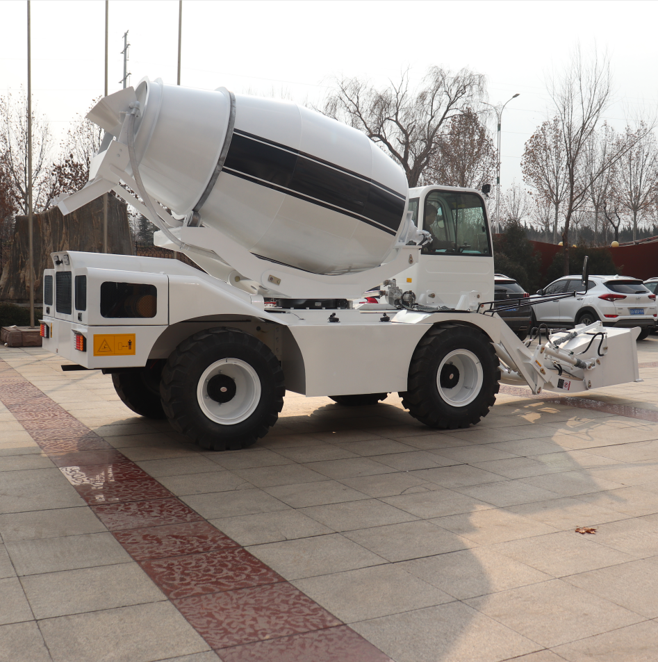 HANK brand 2 cubic meters self loading mixer ,mobile concrete mixer  with CE for sale