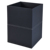 Custom high quality luxury faux leather waste bin for household
