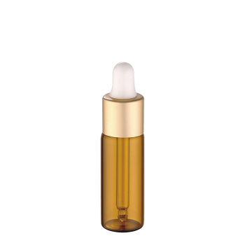 cosmetic packaging tubes 3ml 5ml 8ml 10ml amber essential oil glass bottle with dropper