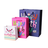 Cheap Bags Birthday with Logo Small Handle Washable Paper Bag Manufacturers