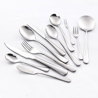 Top seller stainless steel spoon fork cutlery set at cheap price