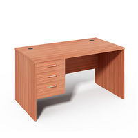 Cherry Fast moving Economic series Office table with fixed 3 drawers