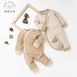 Eco-friendly GOTS certified organic cotton new born baby jumpsuit clothes pajamas rompers