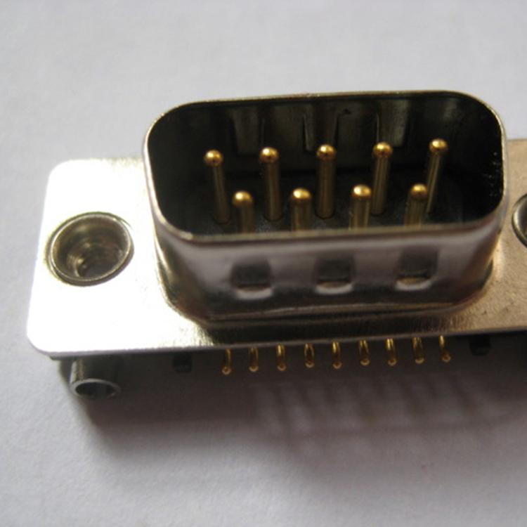 Factory Supply Slim DB <strong>D</strong> Sub 9P Male Plug Connector for PC