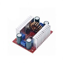 A18-- DC 400W 15A Step-up Boost Converter Constant Current LED Driver 8.5-50V to <strong>10</strong>-60V Voltage Charger Step Up <strong>Module</strong>