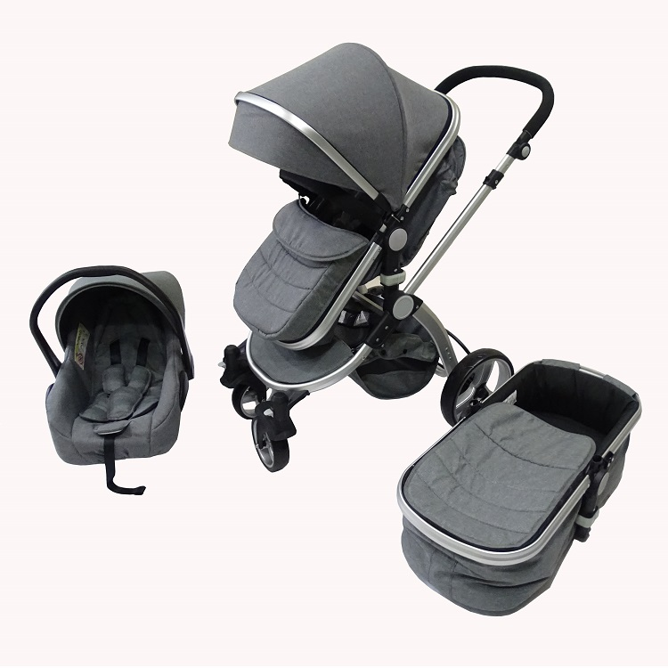 Top Selling European Luxury Baby Stroller 3 in 1 With Car seat