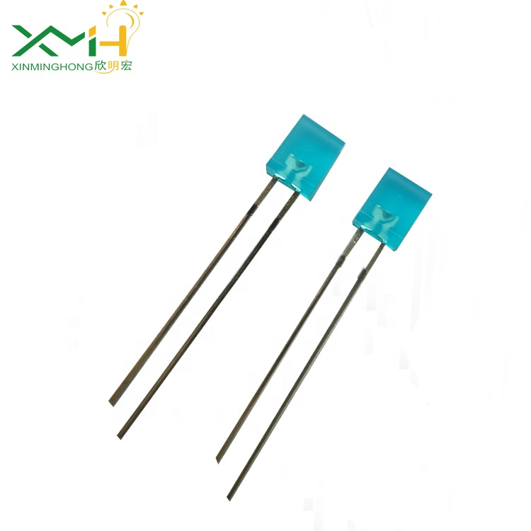 <strong>Blue</strong> diffused led lens diode 2x5x7