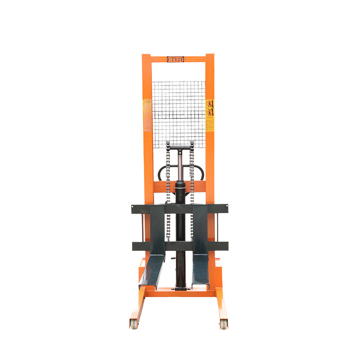 high mast forklift 1t Low failure rate High Quality of hydraulic stacker