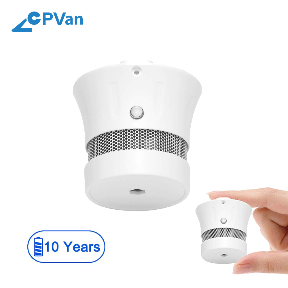 CPVAN Mini Smoke <strong>Alarm</strong> Detector with Photoelectric Technology and VDS&amp; EN14604 Approval