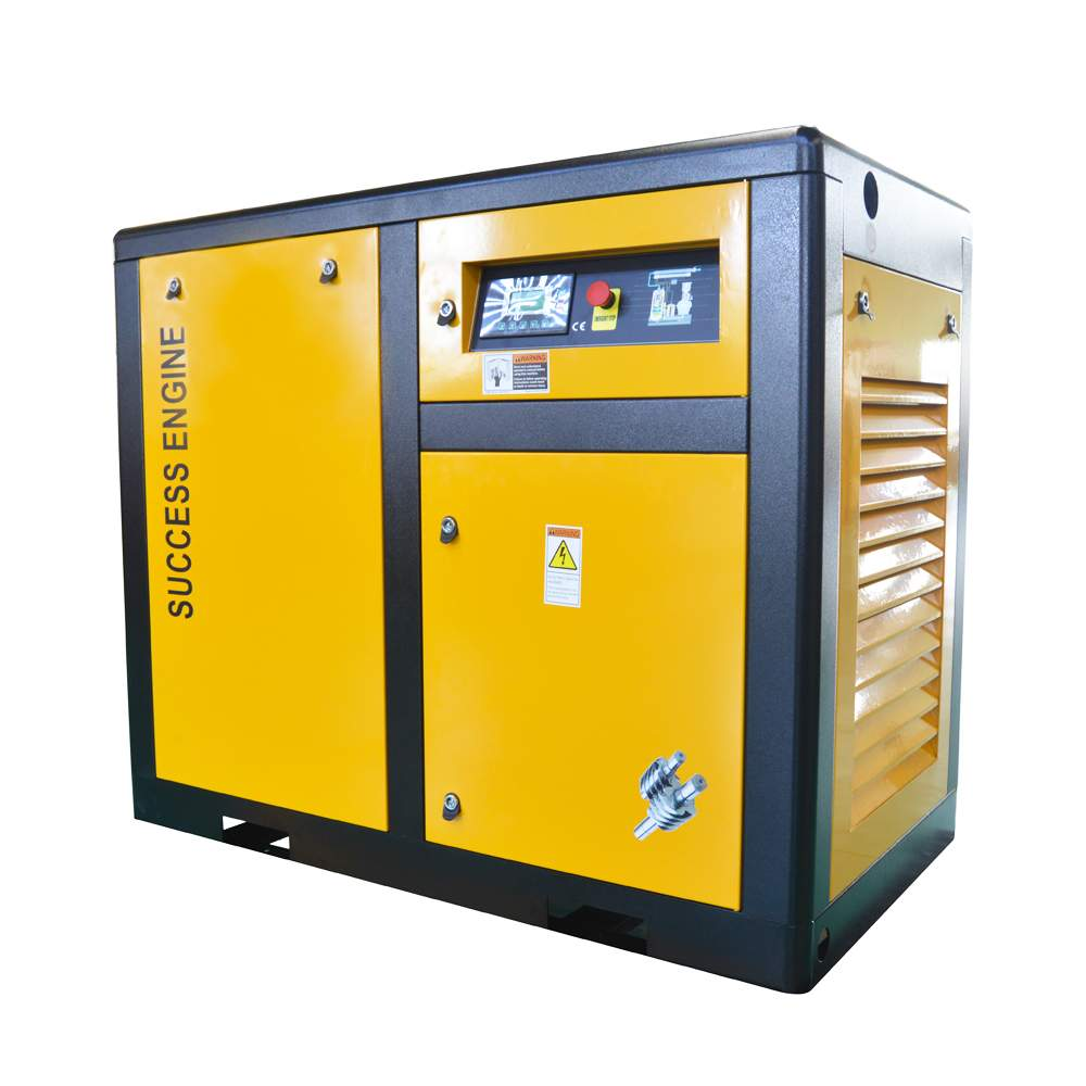110KW (150HP) medium power Direct Driven single Screw Air Compressor with air cooling