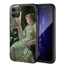 Alfred Stevens Designed for iphone 11 Pro/7/8/Max Art Cellphone/<strong>Mobile</strong> <strong>Phone</strong> Case(<strong>symphony</strong> in green)