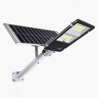 High lumen motion sensor IP65 outdoor 10 20 30 50 100 150 200 300 watt solar led street light price