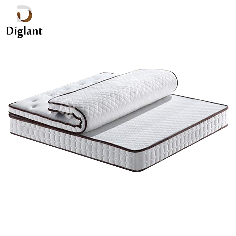 DM080 Diglant Gel Memory Latest Double Fabric Foldable King Size Bed Pocket bedroom furniture casper mattress - Jozy Mattress | Jozy.net