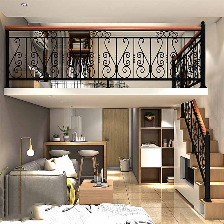 Factory Custom Stainless Steel Handrail Cheap Price Exterior Decorative Stair Railing