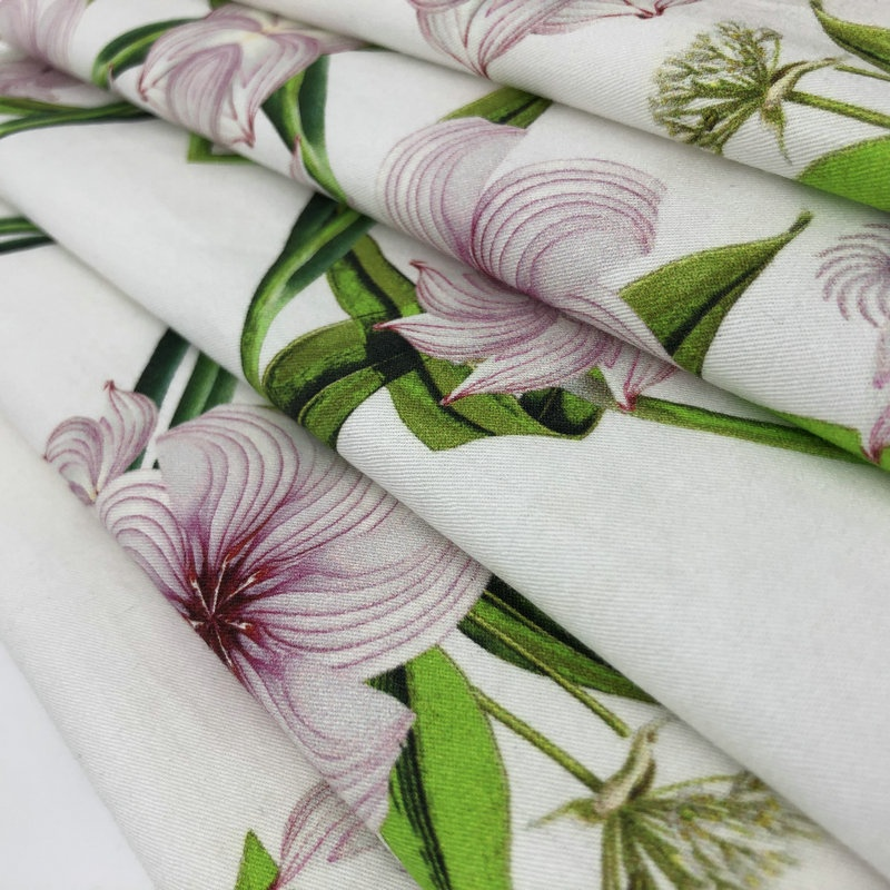 Fonesun-<strong>C111</strong> Customer Print 100% COTTON Polpin DIgital Printing Fabric