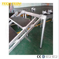 Popular Wedding decoration aluminum truss with roof DJ spigot truss Event stage scene