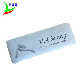 ขายส่ง nonwoven depilatory wax strips hair remover สำหรับ body