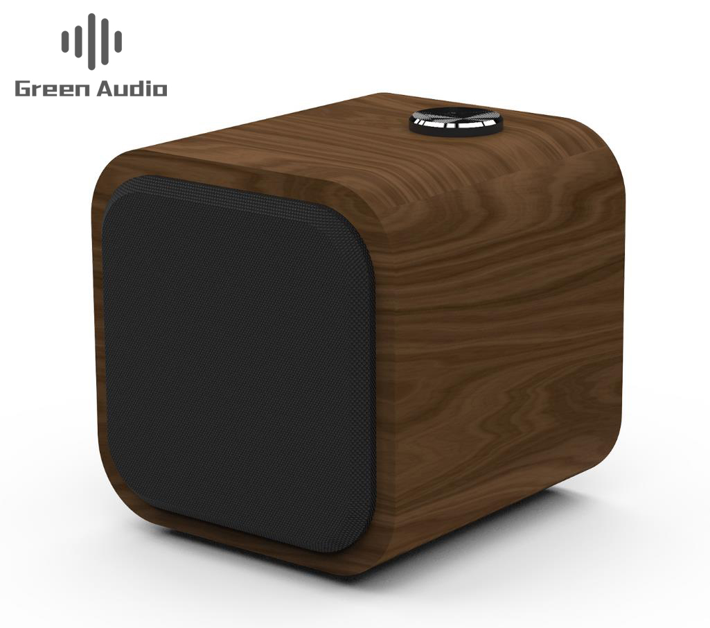 GAS-<strong>D10</strong> HiFi Wooden <strong>Bluetooth</strong> Speaker Subwoofer Wireless Portable Speaker Mini Outdoor Speakers Surround Music Column FM 10W