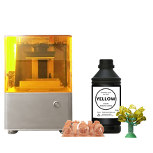 IFUN yellow and red color 405nm DLP castable liquid 3D printer resin for Jewelry Set/ Bracelet&amp;Bangles/Rings/<strong>Earrings</strong>/Necklaces