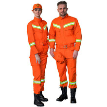 fashion summer men emergency relief clothes welding <strong>safety</strong> overall